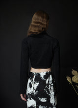 Load image into Gallery viewer, BLOSSOM shirt in black