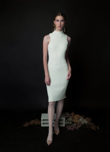 short SHIRA dress in white