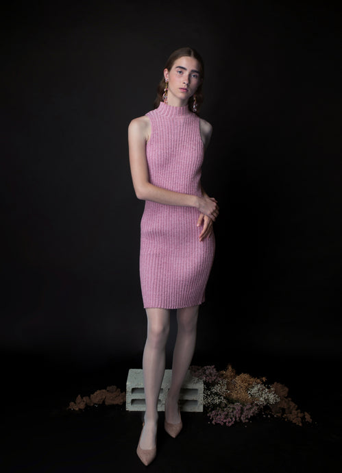 short SHIRA dress in pink