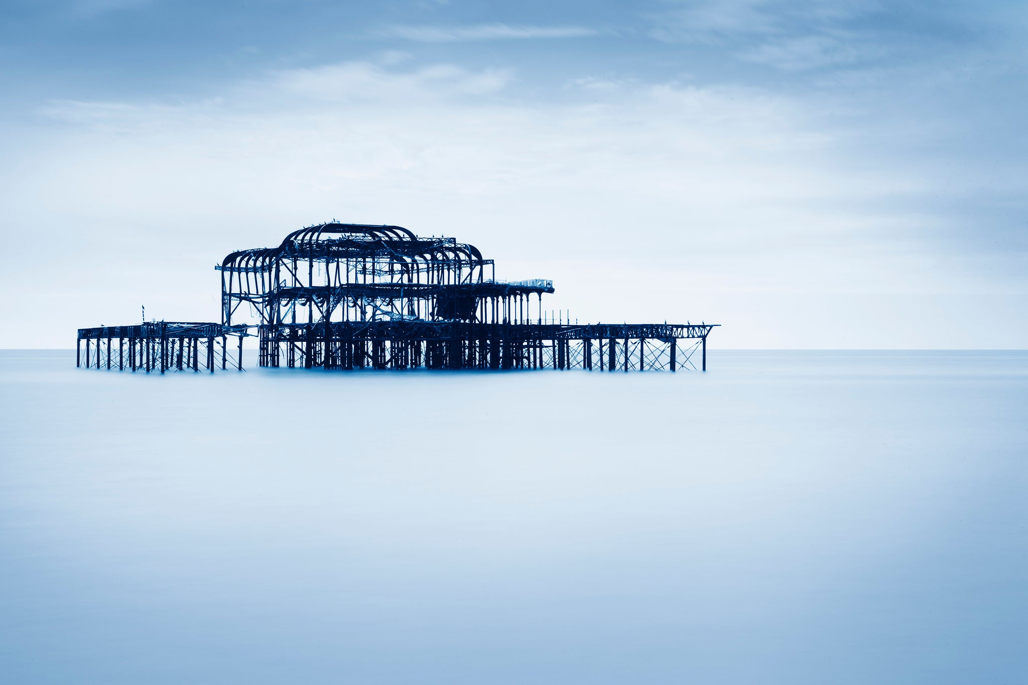 The Remnants of the West Pier I, Brighton - West Sussex