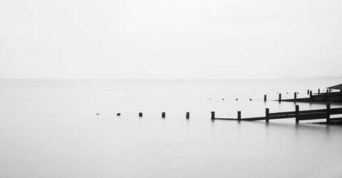 Wooden Groynes, Isle of Grain, Kent