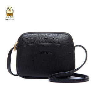d504b1c0cb3b Beibaobao 2018 Hot Crossbody Bags For Women Casual Mini Candy Color  Messenger Bag For Girls Flap Pu Leather Shoulder Bags