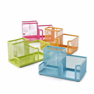 311513deb0 1 Pc Lot Durable Painted Metal-Netted Pen Holder   Stationery Holder for  School Stationery   Office Supply   Home Use