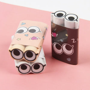 58c341b7b43 1 pcs High quality Cute big eye 2B rubber eraser kawaii stationery school  supplies papelaria girl gift for kids Children s toys