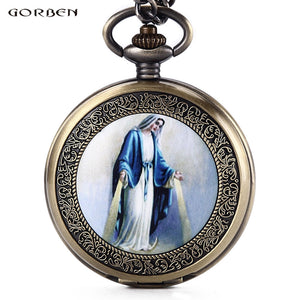 Watches Brave New Bronze Pirate Skull Pocket Watch Steampunk Quartz Pocket Watch Special Pattern Antique Stylish Watches With Chain Men Women Factory Direct Selling Price