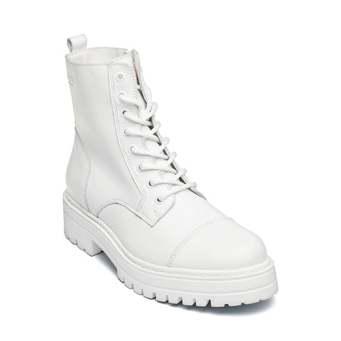 Havarly WHITE LEATHER
