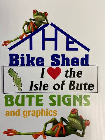 Isle of Bute Range Bumper sticker