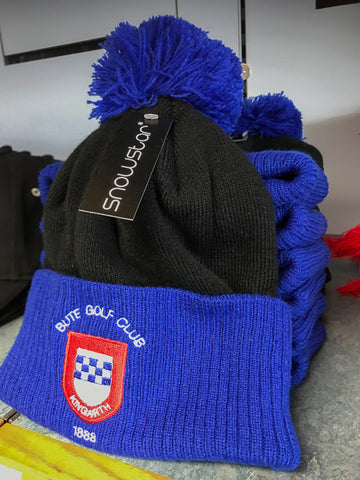 Bute Golf Club Pom Pom Beanie