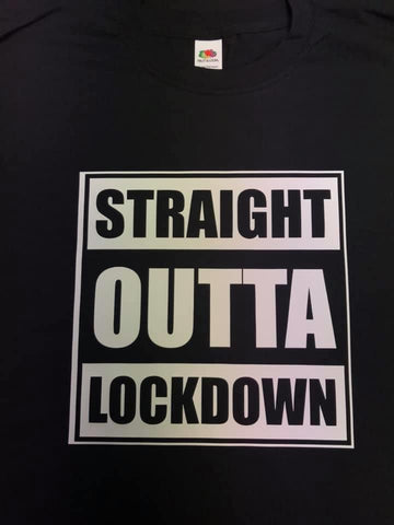 Straight Outta Lockdown T-Shirt and Mug