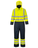 Portwest Lined HiVis Coverall