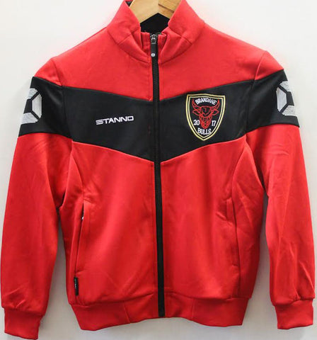 Brandane Bulls Junior Full Zip Tracktop