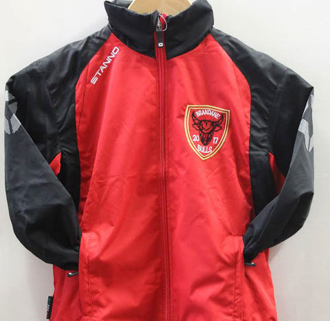 Brandane Bulls Adult Windbreaker Jacket
