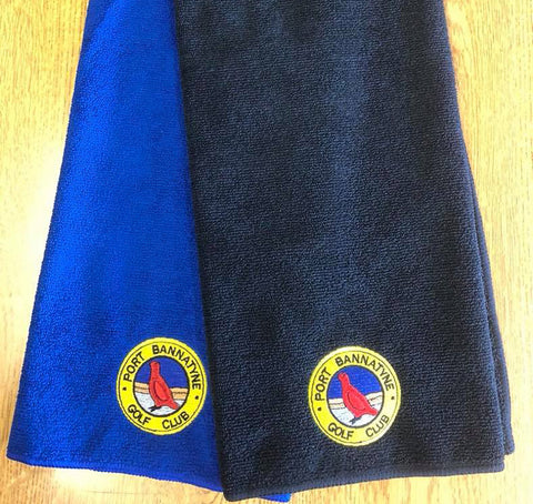 Port Bannatyne Golf Club towel