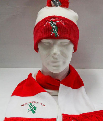 Bute Shinty Club Pompom Hat