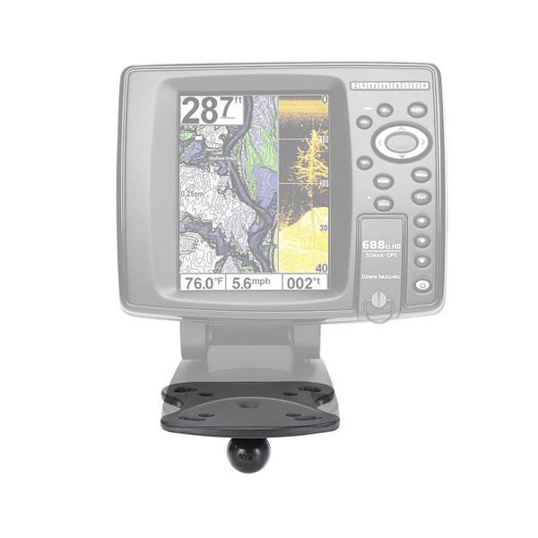 RAM Marine Base for Humminbird, Matrix & Lowrance Elite-5 Series (RAM-B-107BU) - Image1