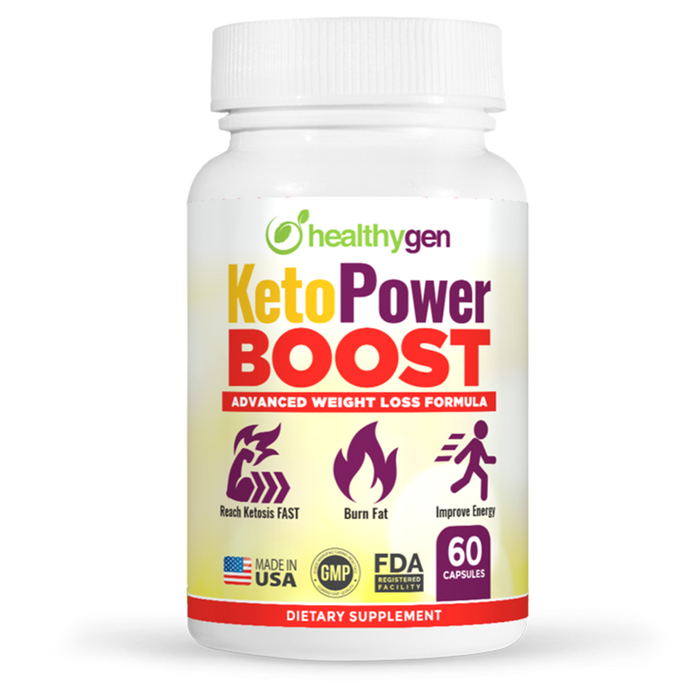 KetoPower Boost - HealthyGen - Smart Supplements