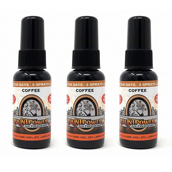 Coffee Spray Air Freshener Bundle (3 Pack)
