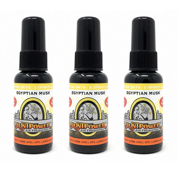 Egyptian Musk Spray Air Freshener Bundle (3 Pack)