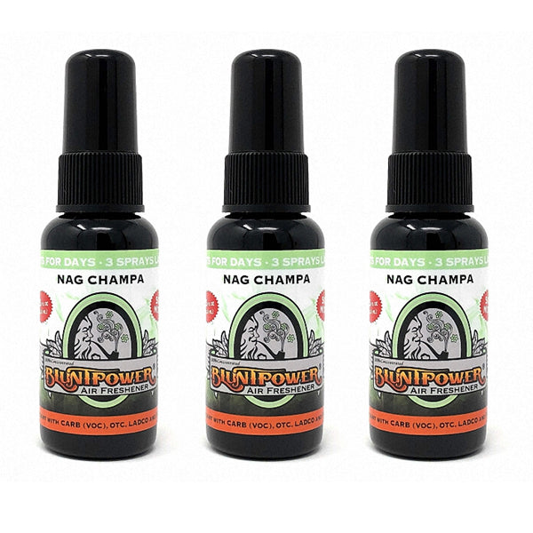 Nag Champa Spray Air Freshener Bundle (3 Pack)