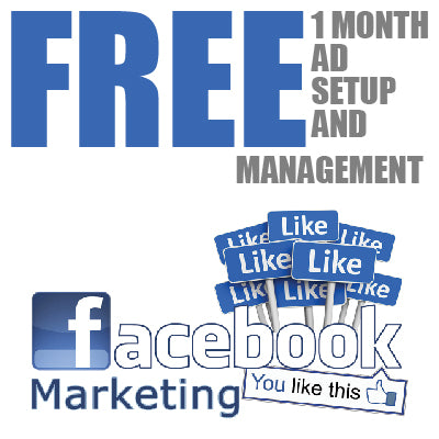 Facebook Ad Management — FREE 1 Month