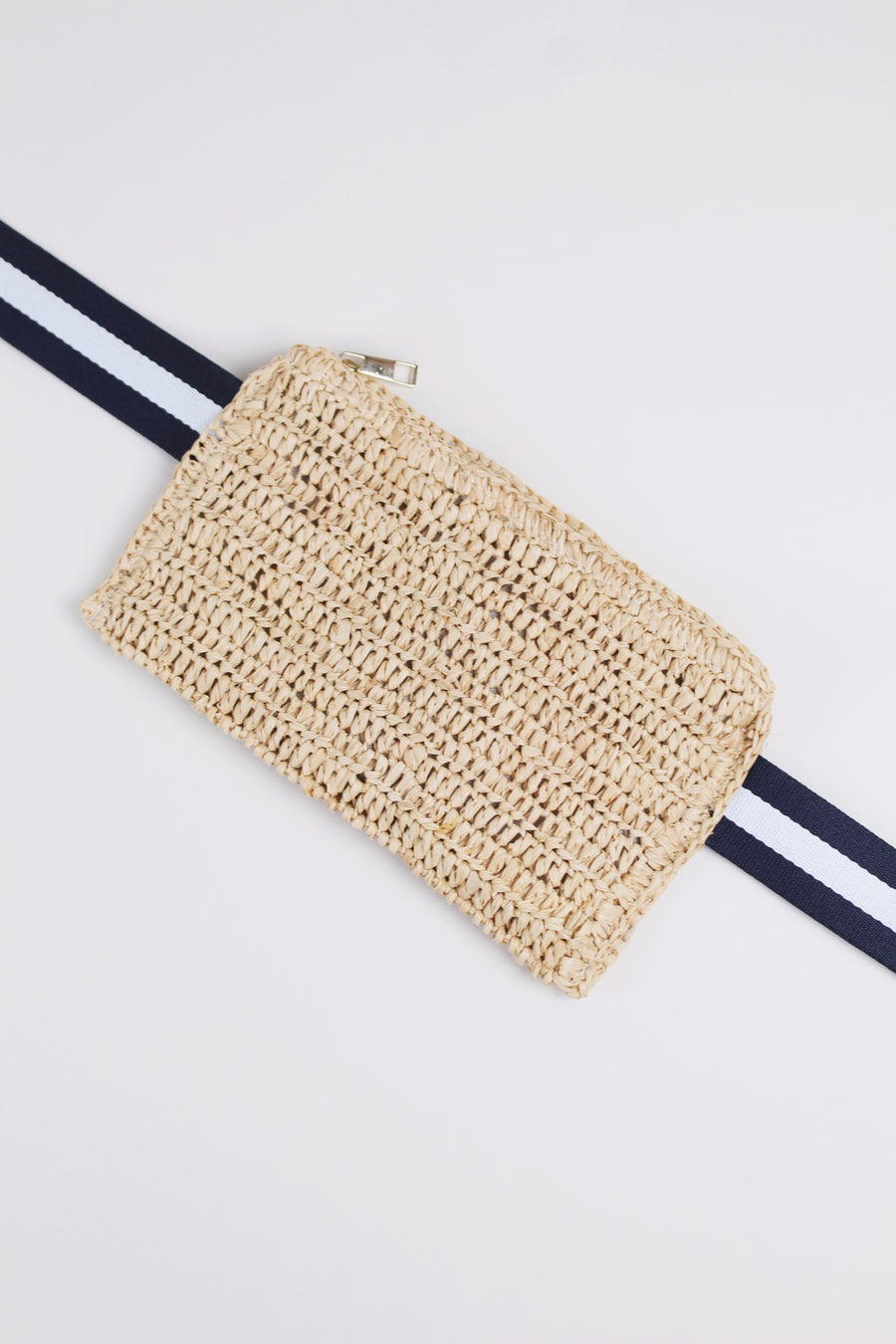 Natural Belt Bag by HatAttack - The Beach Bride by Chic Parisien, a destination for beach weddings, bachelorettes and honeymoons