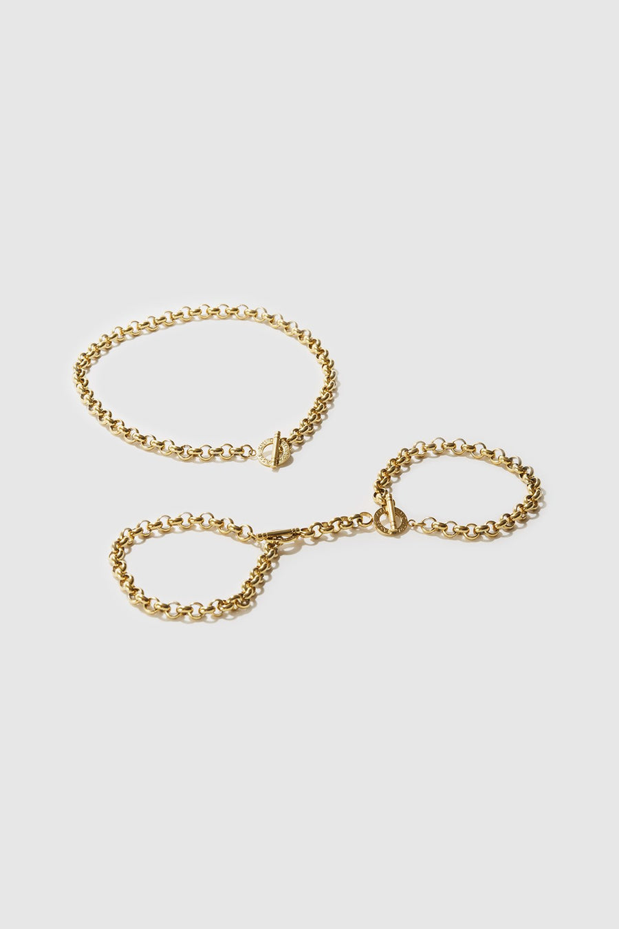 Handcuffs, 14k Gold - The Beach Bride by Chic Parisien, a destination for beach weddings, bachelorettes and honeymoons
