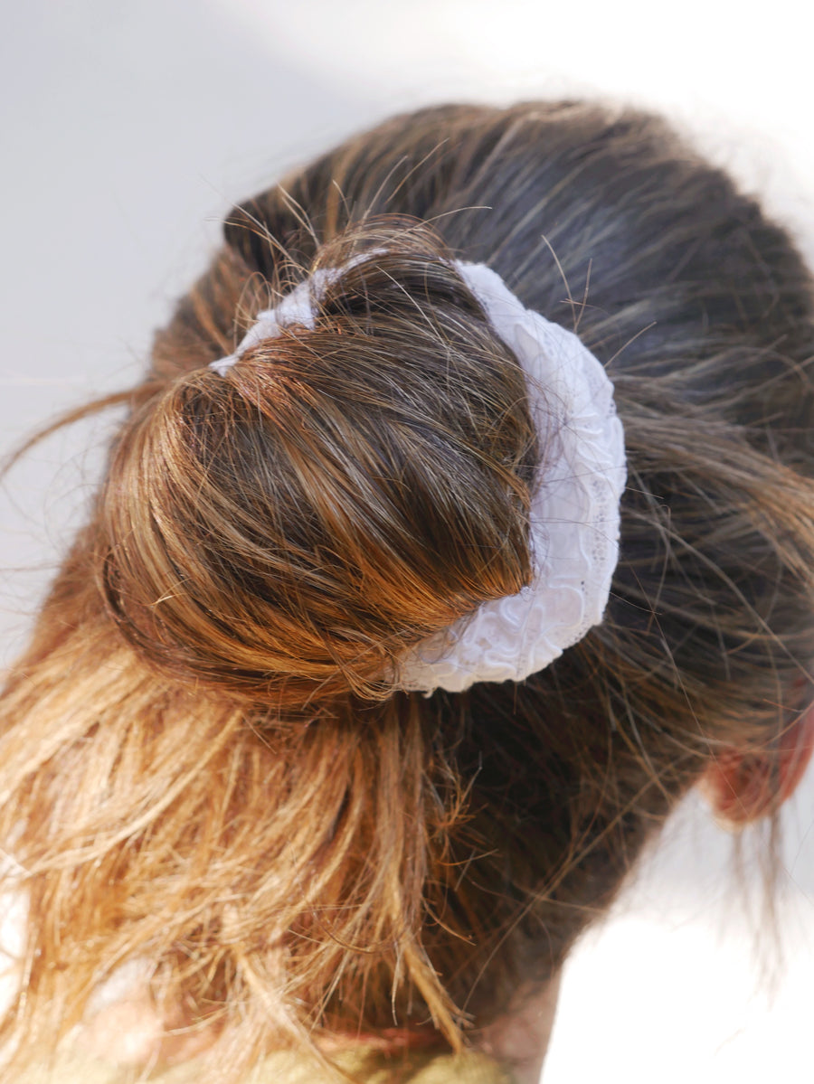 Share The Love: Lace Scrunchie