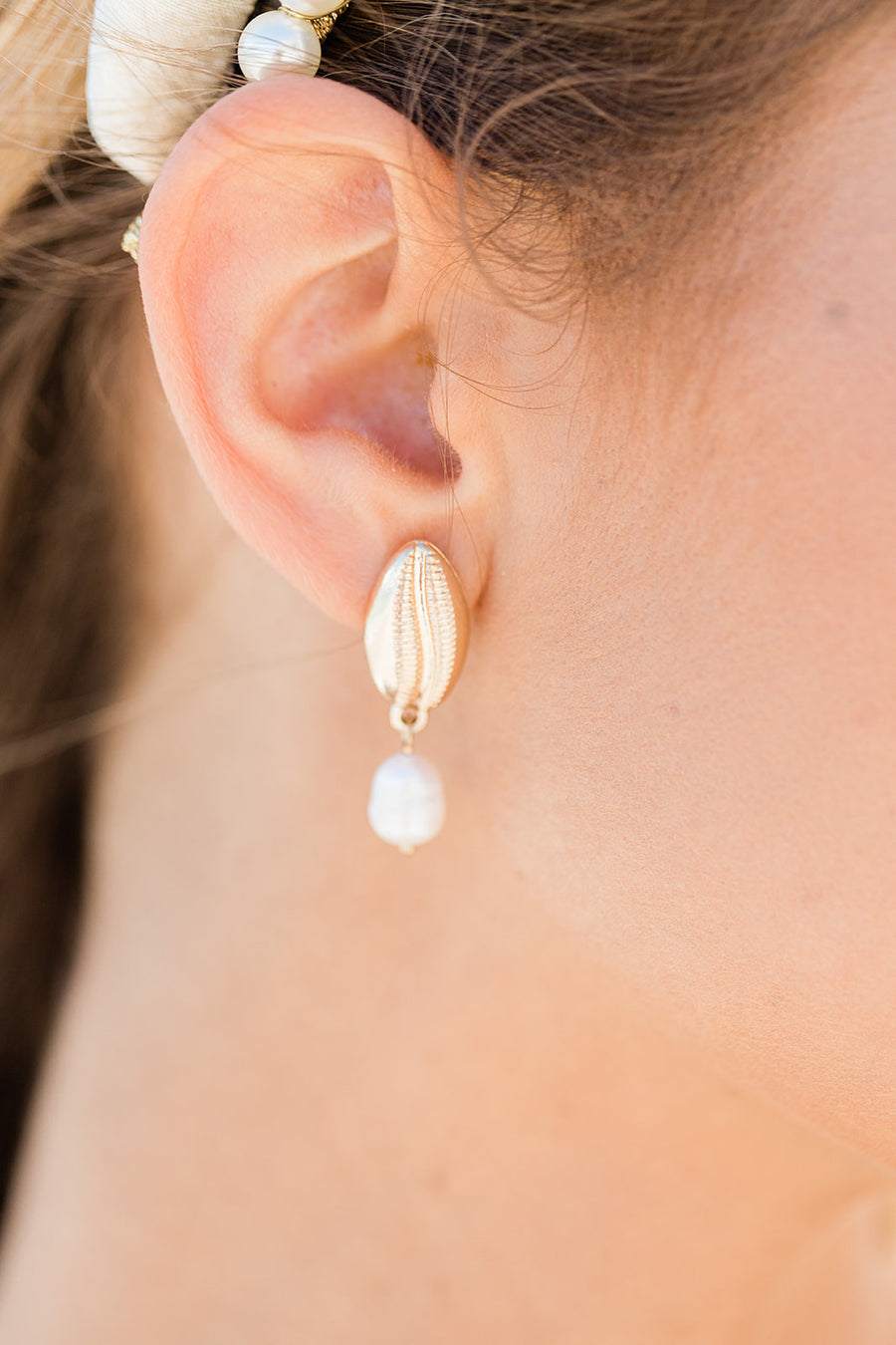 Eleuthera Earrings - The Beach Bride by Chic Parisien, a destination for beach weddings, bachelorettes and honeymoons
