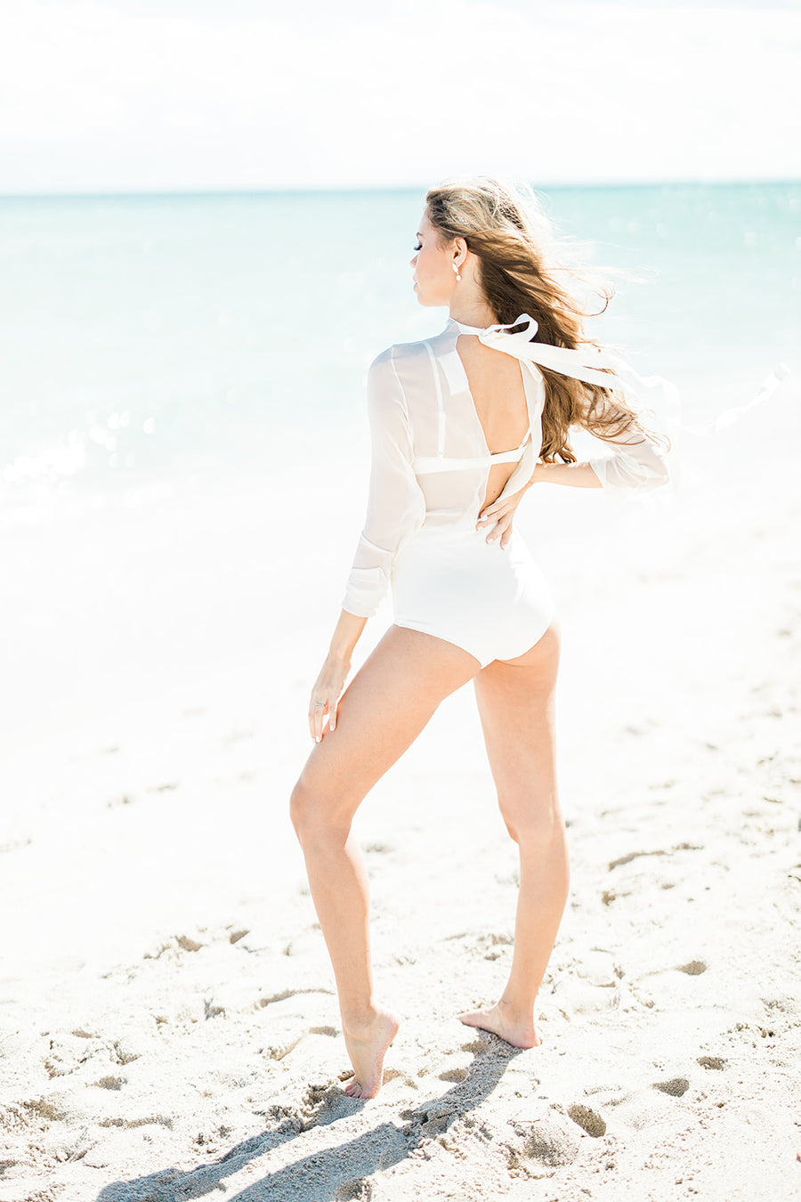 The Brigitte Bottom by Solid and Striped - The Beach Bride by Chic Parisien, a destination for beach weddings, bachelorettes and honeymoons