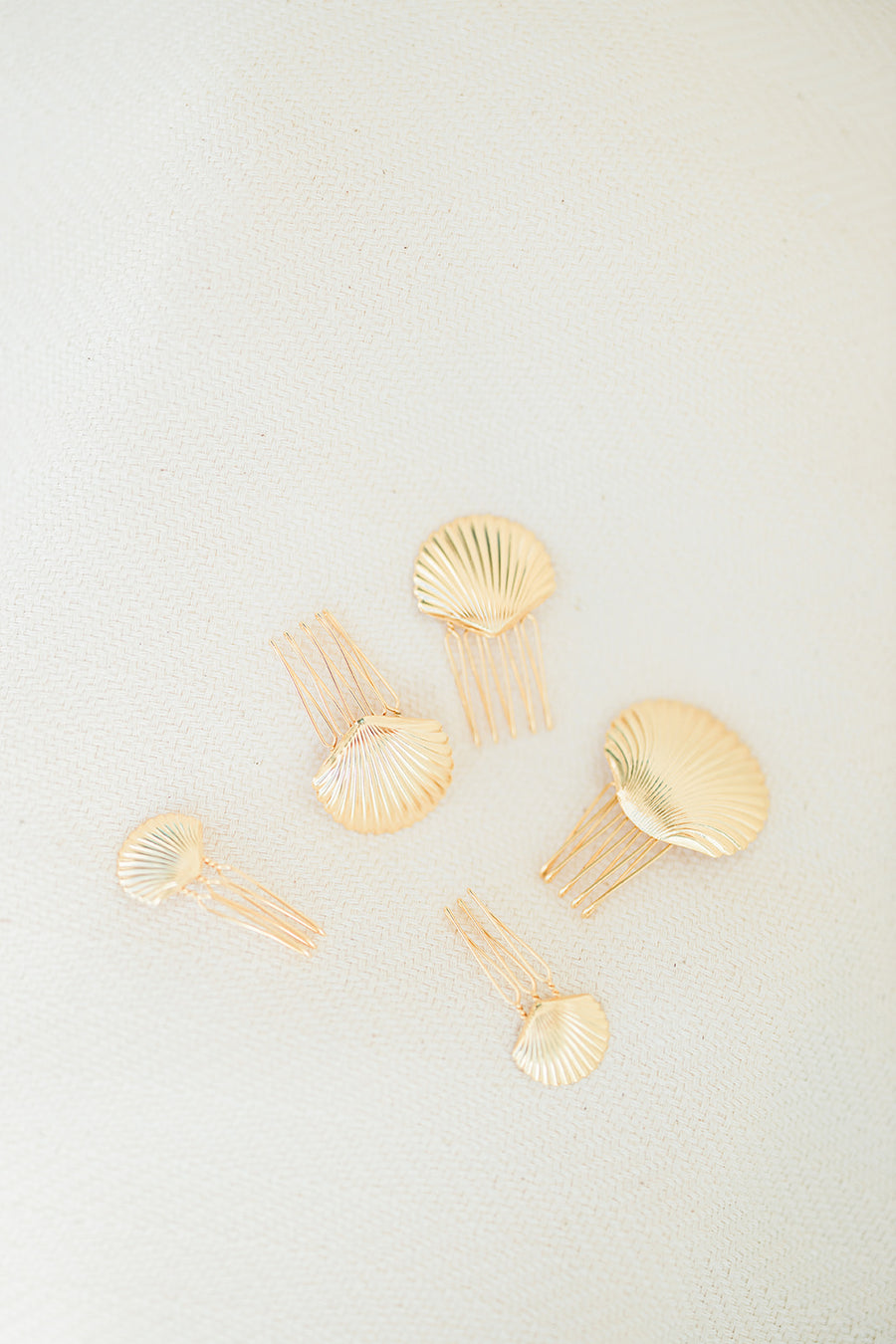 She Sells Petite Comb Set of 5 - The Beach Bride by Chic Parisien, a destination for beach weddings, bachelorettes and honeymoons