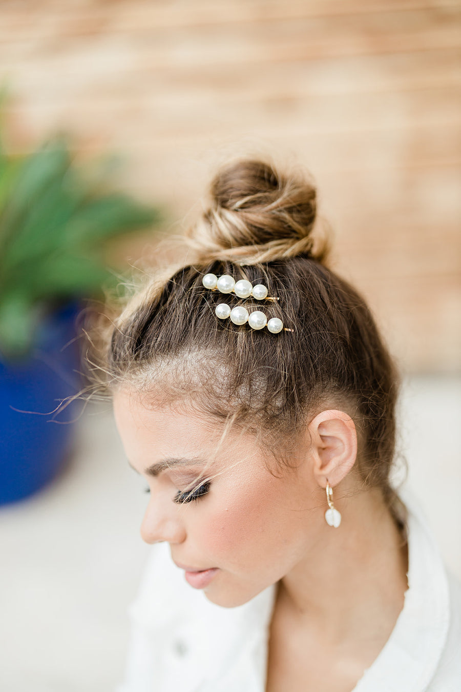 Padma Bobby Pins with Pearls