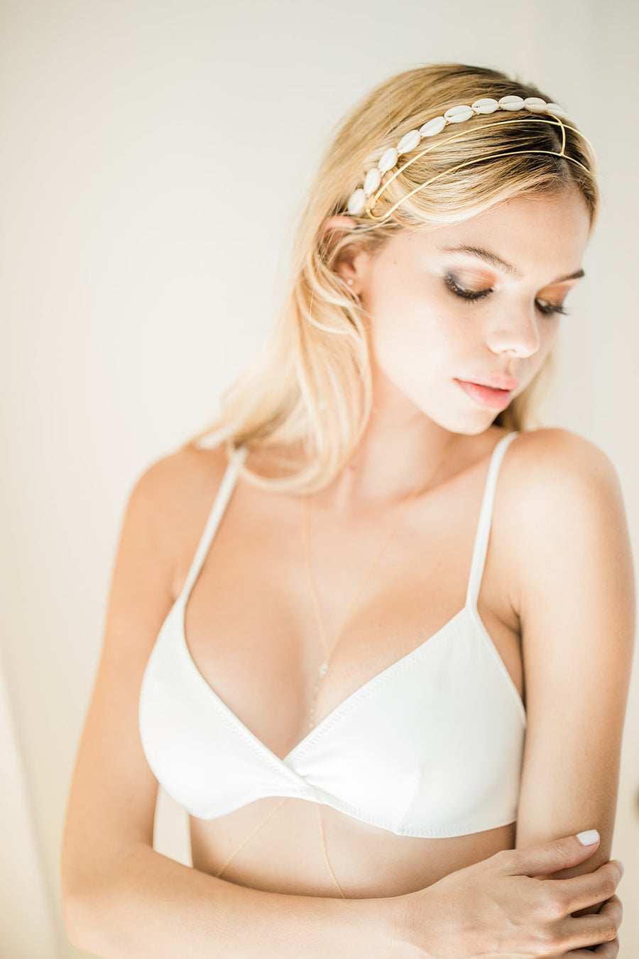 The Brigitte Top by Solid & Striped - The Beach Bride by Chic Parisien, a destination for beach weddings, bachelorettes and honeymoons