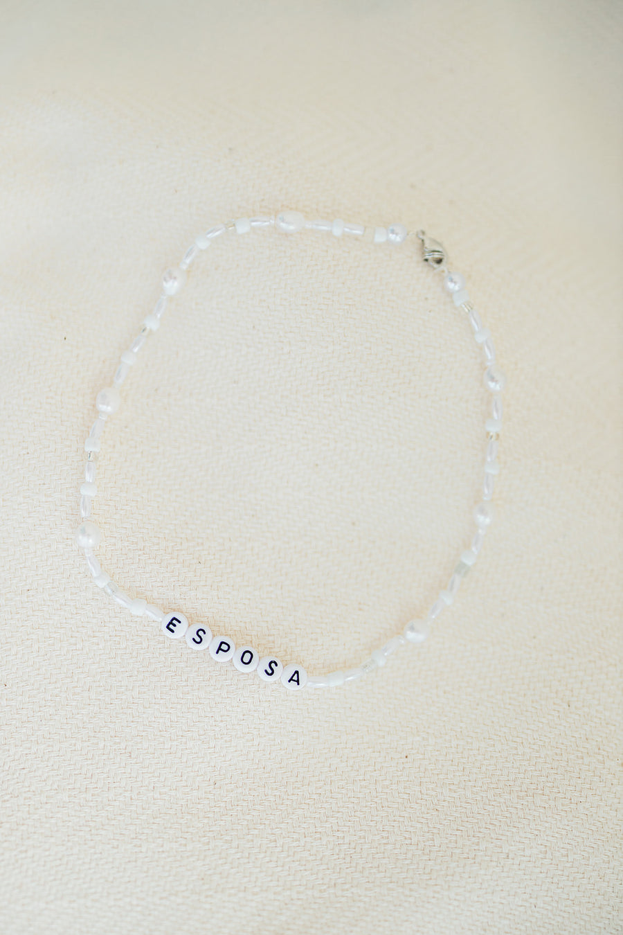Custom Letter Necklaces, Bracelets, and Anklets