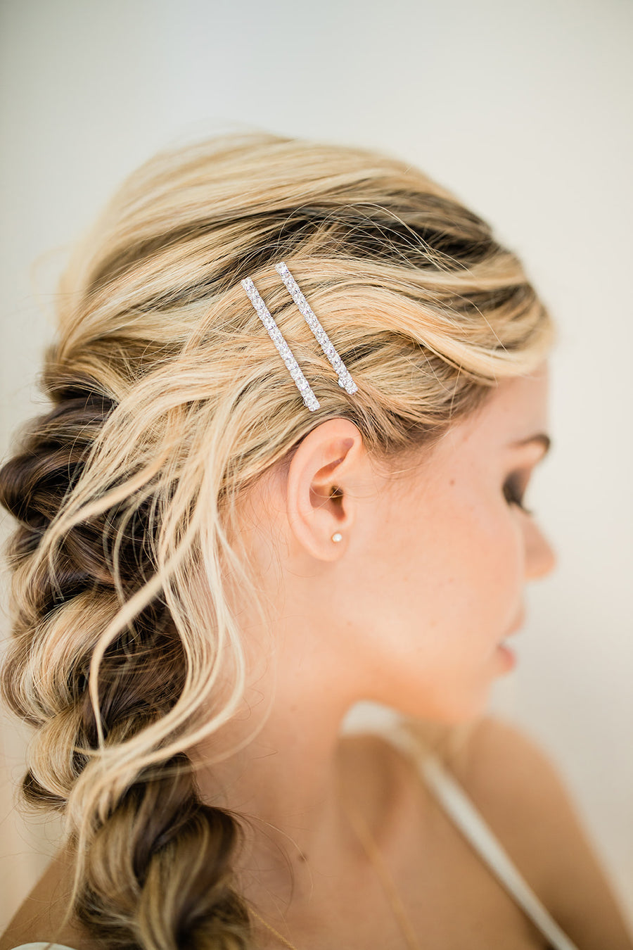Gwen Bobby Pin Set - The Beach Bride by Chic Parisien, a destination for beach weddings, bachelorettes and honeymoons