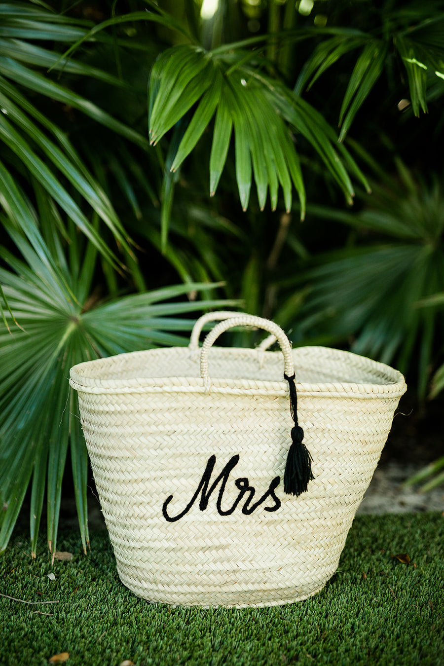 Mrs Large Beach Tote - The Beach Bride by Chic Parisien, a destination for beach weddings, bachelorettes and honeymoons