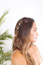 Load image into Gallery viewer, Star Pearl Barrette - The Beach Bride by Chic Parisien, a destination for beach weddings, bachelorettes and honeymoons