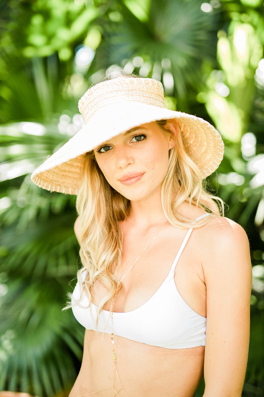 Roll Up Travel Visor - The Beach Bride by Chic Parisien, a destination for beach weddings, bachelorettes and honeymoons