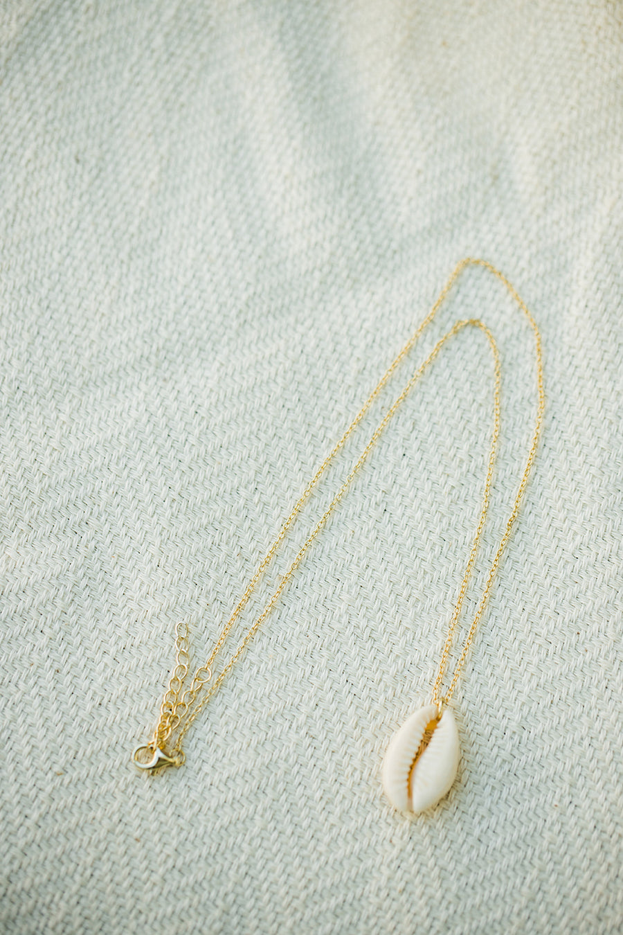 La Jolla Shell Necklace - The Beach Bride by Chic Parisien, a destination for beach weddings, bachelorettes and honeymoons