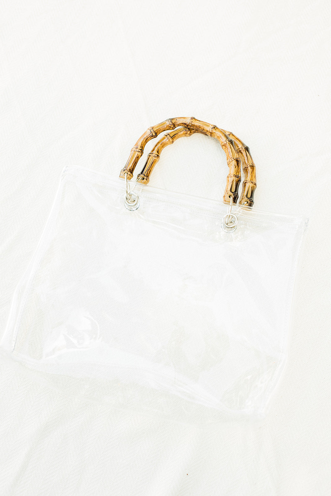 Venice Beach Clear Tote - The Beach Bride by Chic Parisien, a destination for beach weddings, bachelorettes and honeymoons