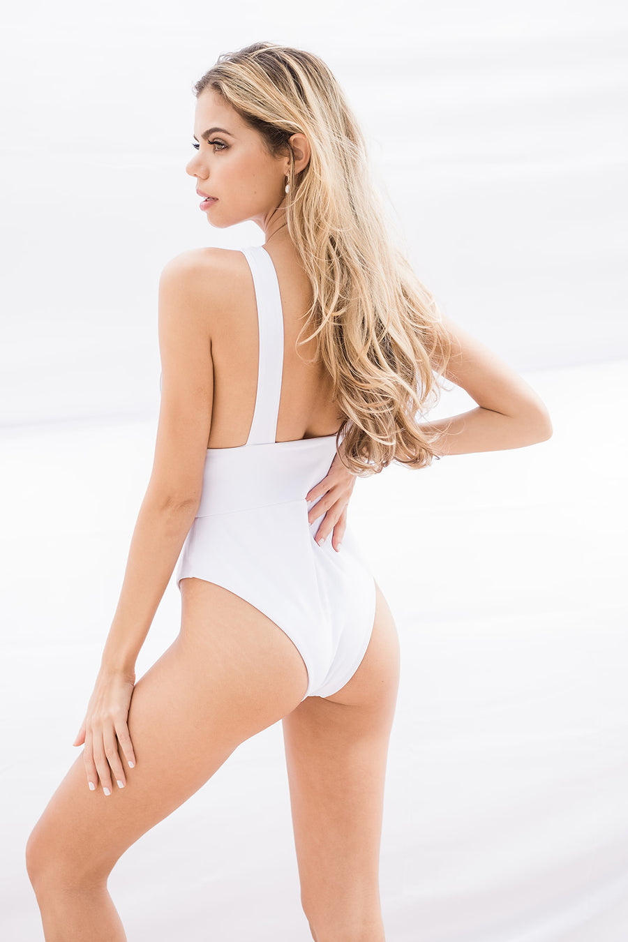The Miami One Piece Bathing Suit - The Beach Bride by Chic Parisien, a destination for beach weddings, bachelorettes and honeymoons