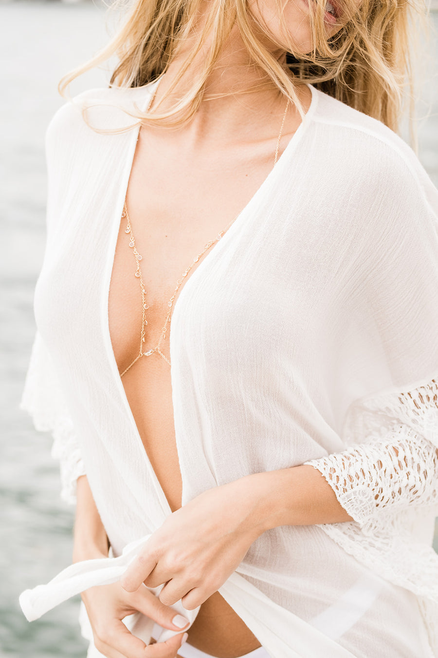 Bikini Body Gold Chain - The Beach Bride by Chic Parisien, a destination for beach weddings, bachelorettes and honeymoons
