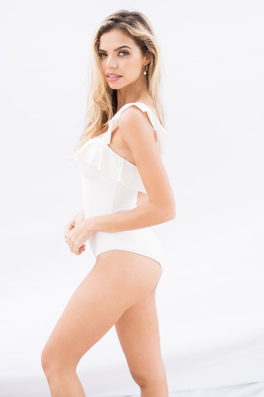 So Solid Jane Bathing Suit - The Beach Bride by Chic Parisien, a destination for beach weddings, bachelorettes and honeymoons