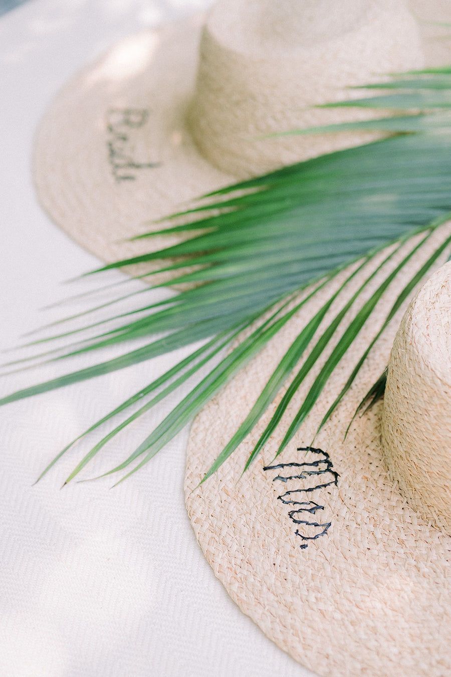 Mrs. Sun Hat by HatAttack - The Beach Bride by Chic Parisien, a destination for beach weddings, bachelorettes and honeymoons
