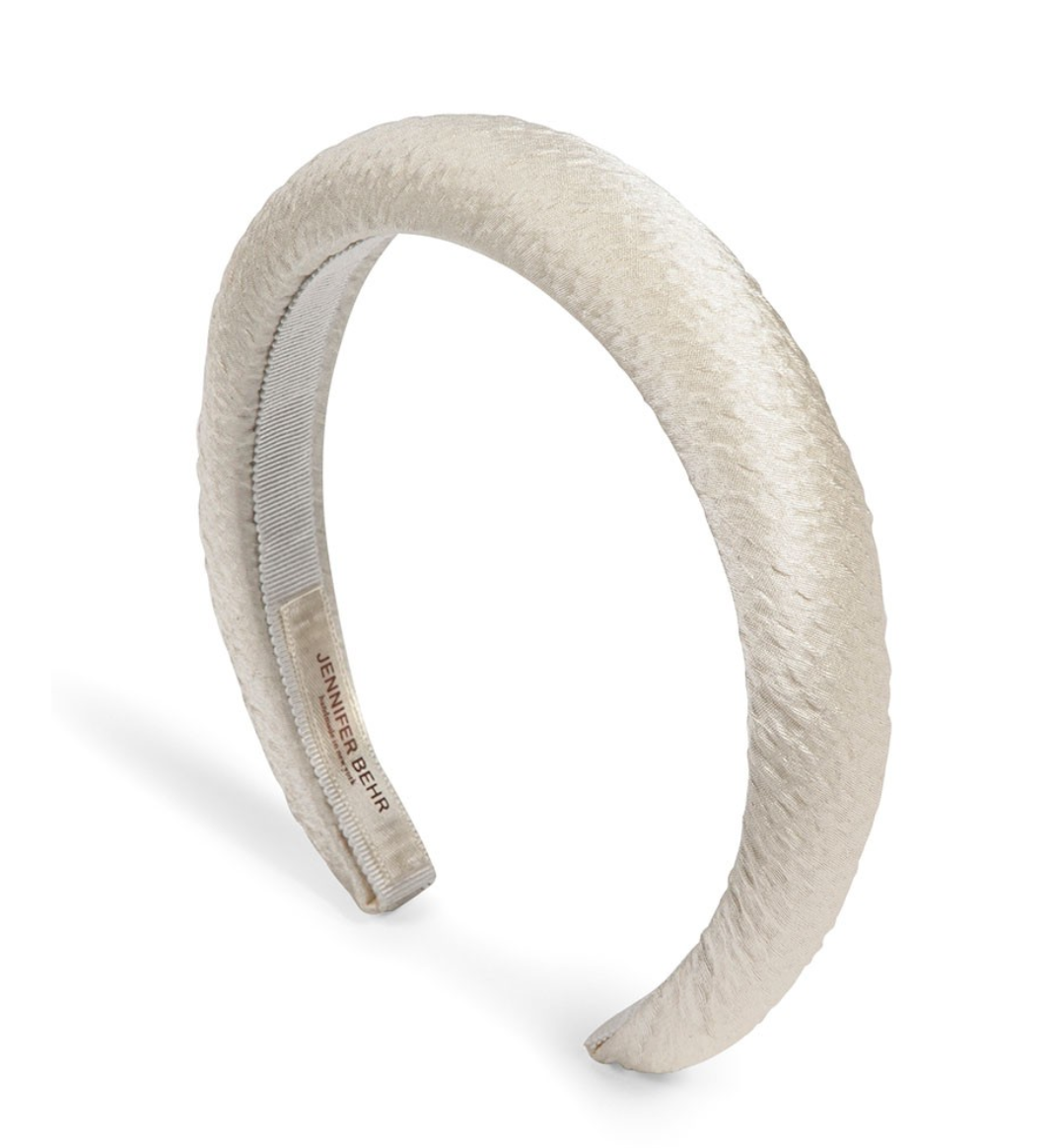 Tori Hammered Silk Headband