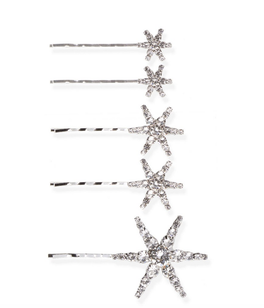 Vespera Bobby Pin Set of 5 - The Beach Bride by Chic Parisien, a destination for beach weddings, bachelorettes and honeymoons
