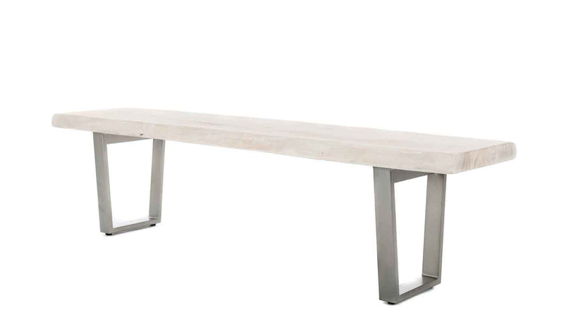 Calvert Bench | White