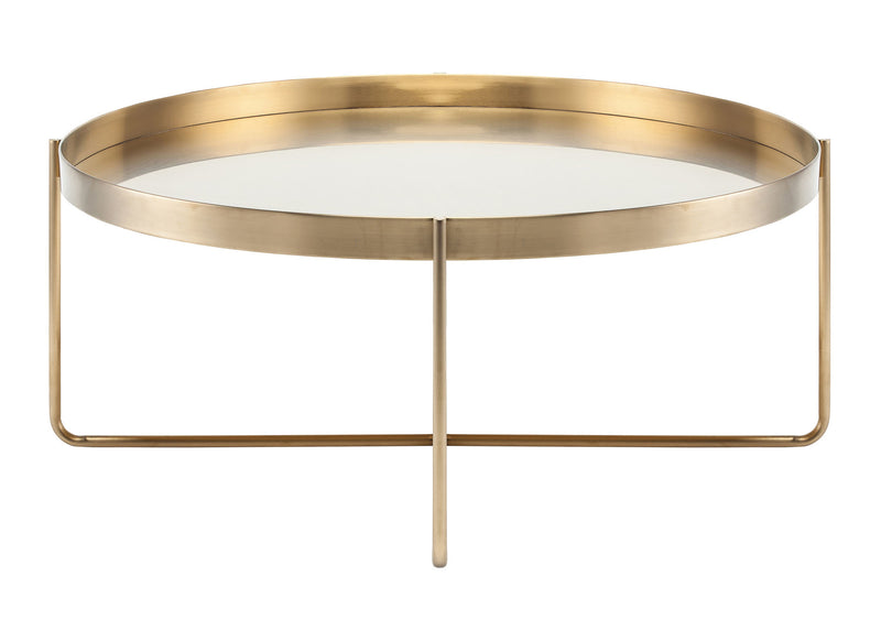 Kathleen Coffee Table | Gold / Round