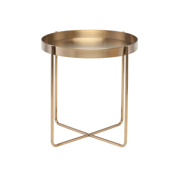Kathleen Side Table | Gold