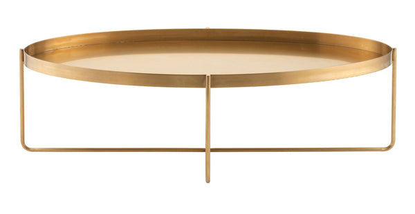 Kathleen Coffee Table | Gold / Oval