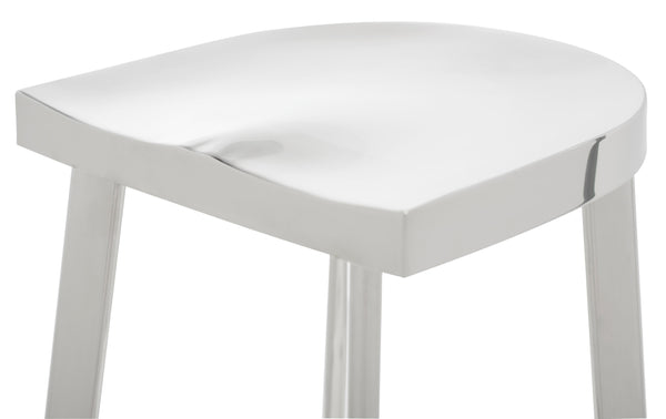 Ivy Counter Stool | Silver